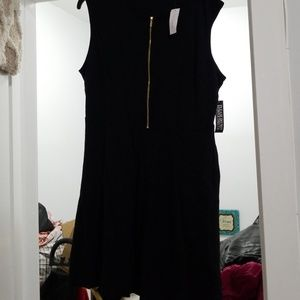 NY&Co Black Fit And Flare Dress NWT size XL